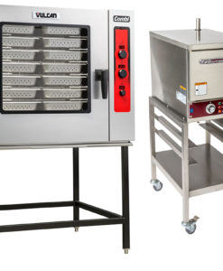 Steamers, Combi Ovens, & Steam Kettles